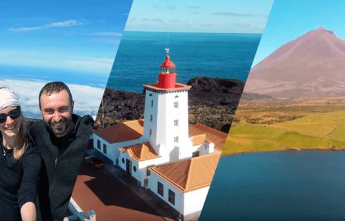 Casal de Budapeste partilha magnífico vídeo das suas férias na Ilha do Pico
