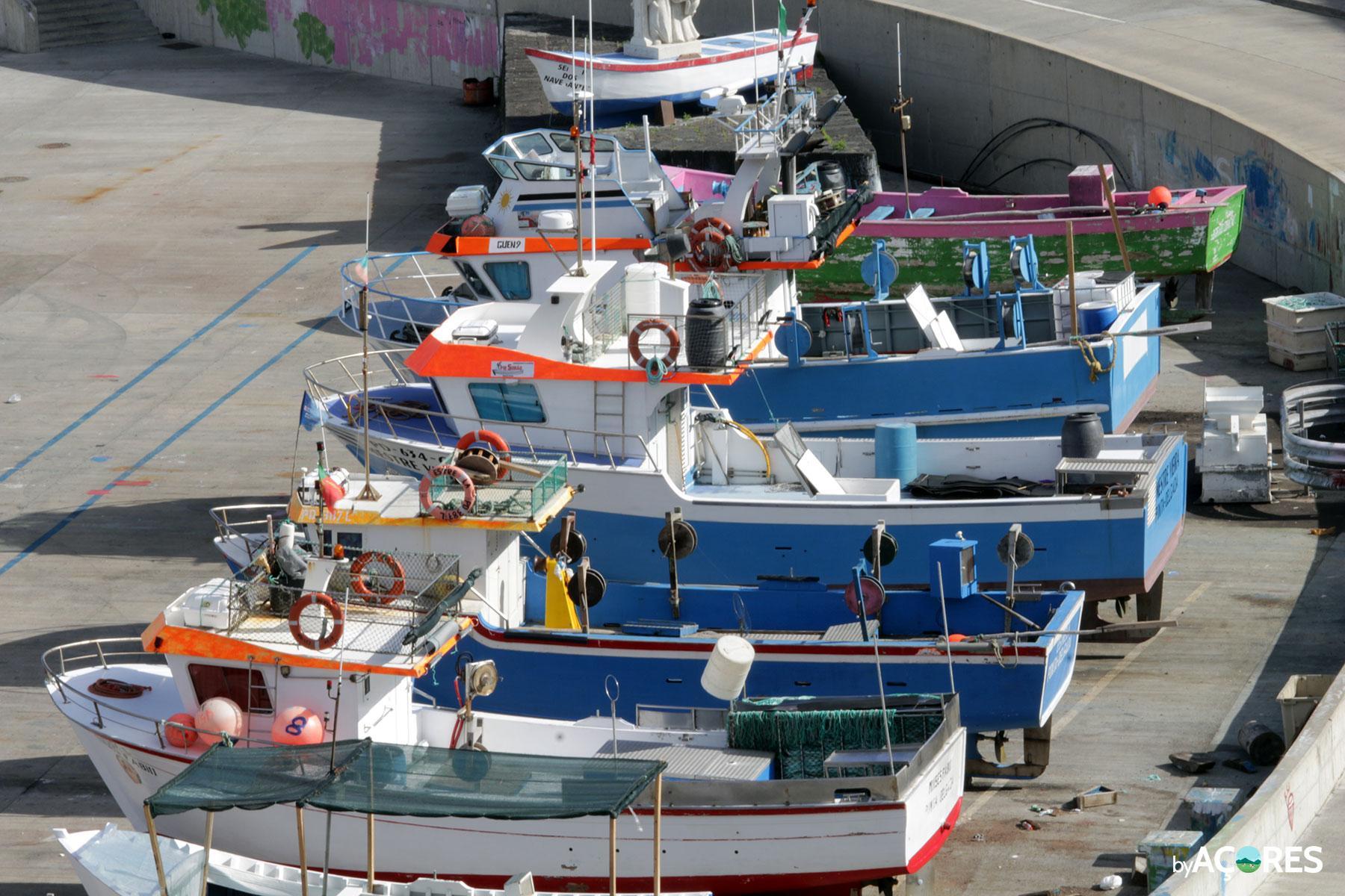 Barcos – Porto de Pescas de Rabo de Peixe