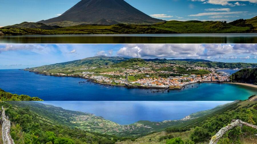 Ilhas do Triângulo | Pico, Faial, São Jorge | Voos + Alojamentos