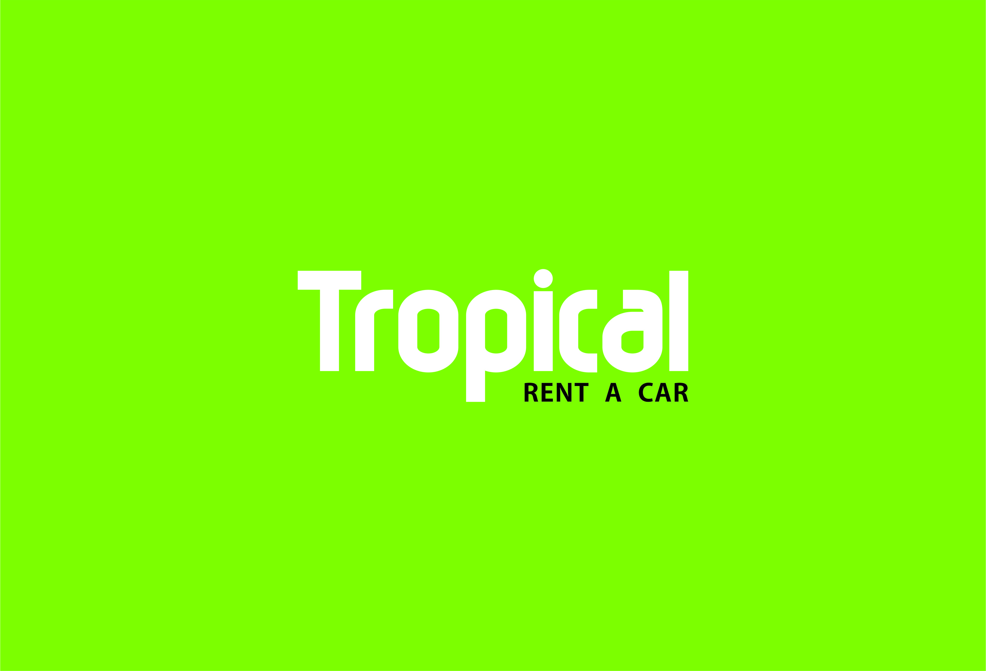Rent a car Tropical