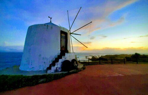 Fim de tarde ilha do Corvo