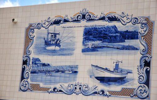 Pescaria em Azulejo
