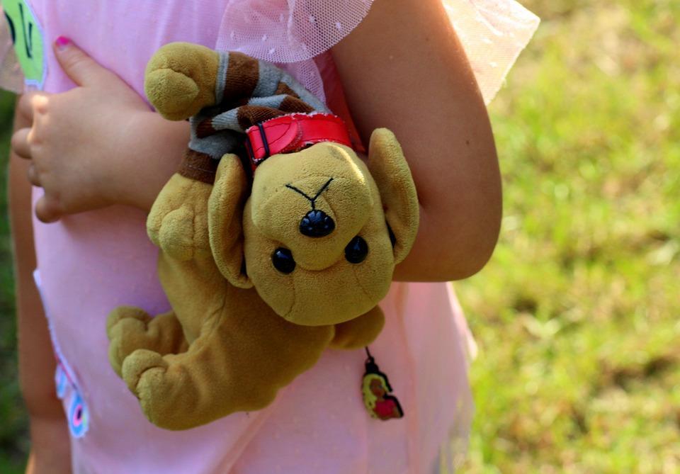 Viajar com Crianças - Peluche