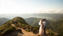 Apaixonaram-se pelos Açores e escolheram São Miguel para celebrar o matrimónio