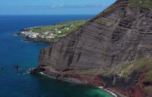 Magníficas imagens aéreas da Ilha Graciosa