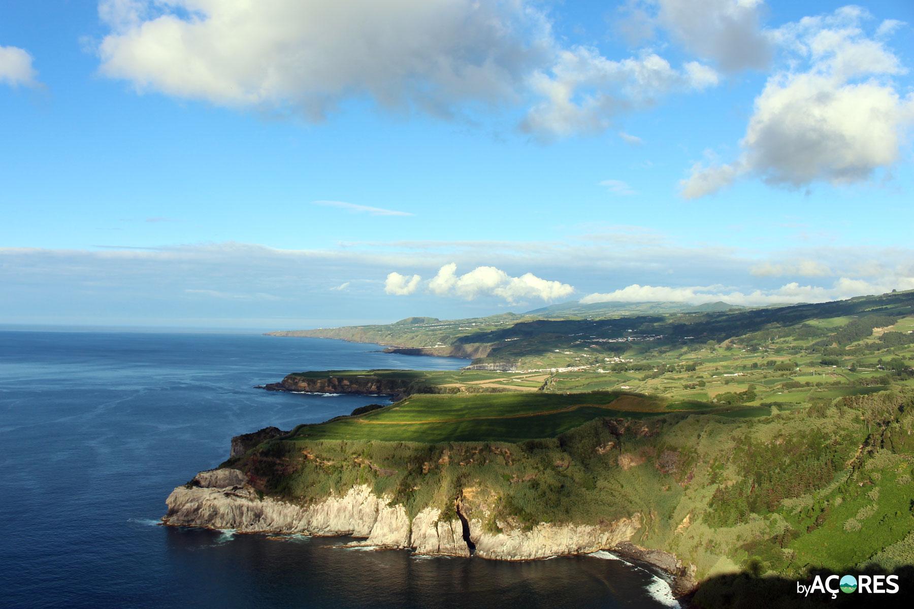 Miradouro Santa Iria - Vista - São Miguel, Açores