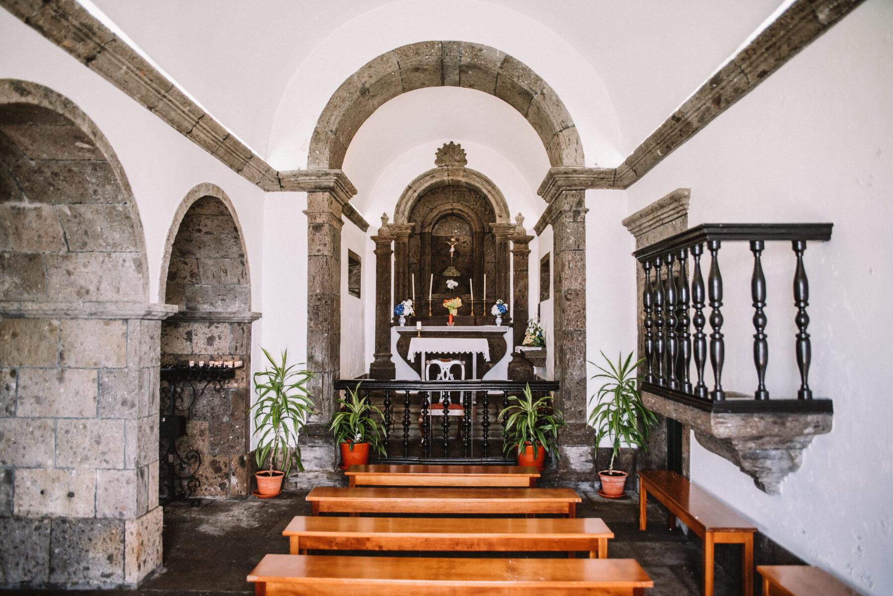 Interior Ermida Nossa Senhora da Paz, Vila Franca do Campo I