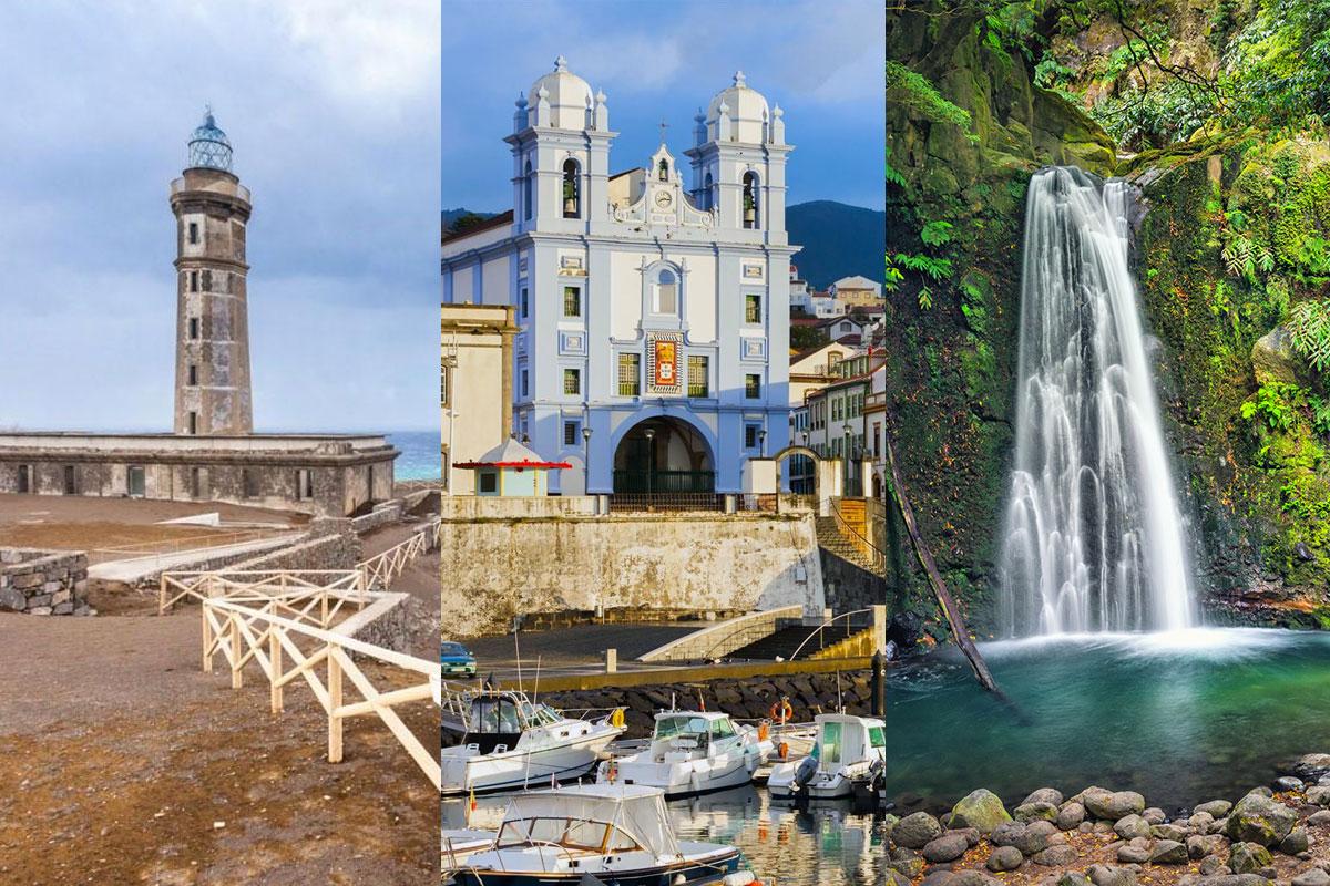 Faial - Terceira - São Miguel