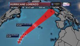 Furacão Lorenzo em Tempo Real / Informações Úteis