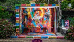 Há uma nova atração na Ilha do Pico, conheça a paragem de autocarro mais artística da ilha