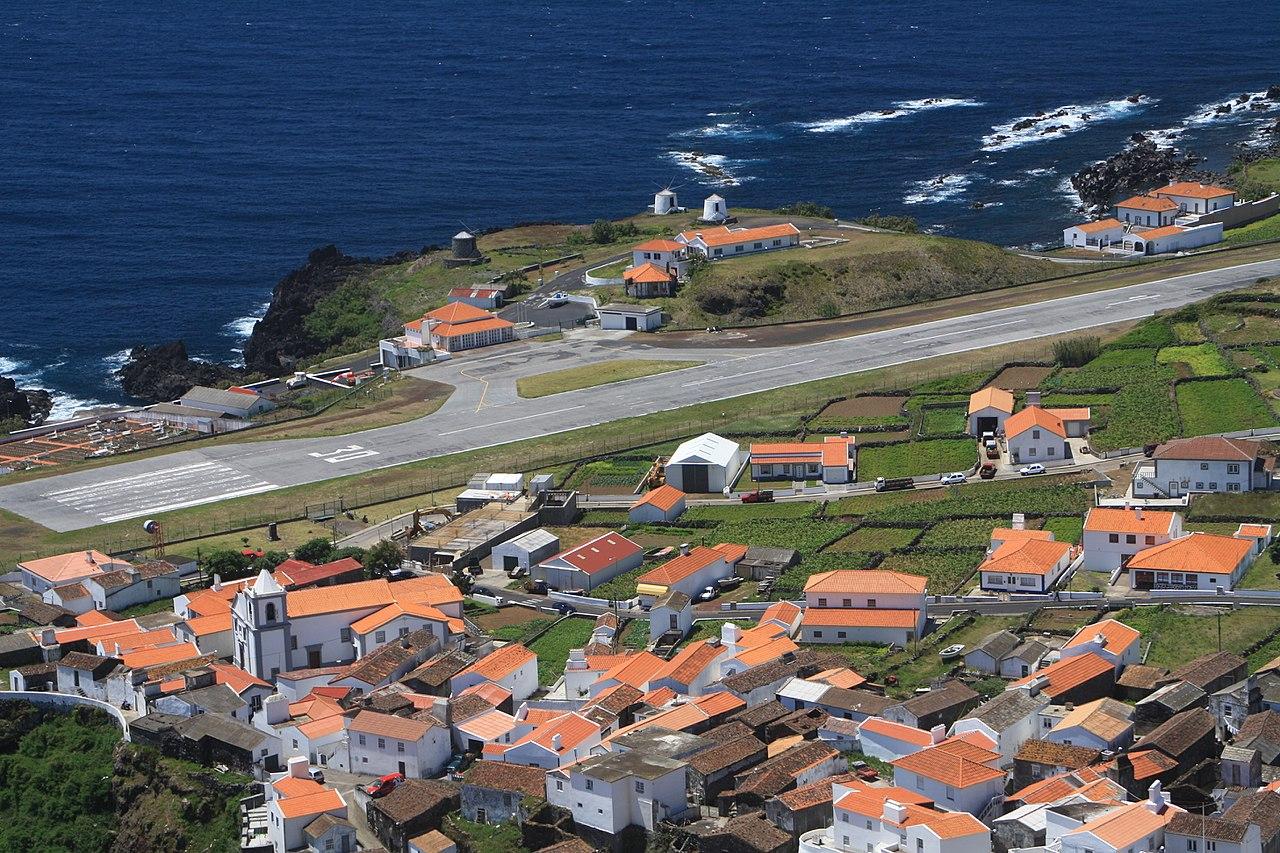 Aeródromo do Corvo, Açores