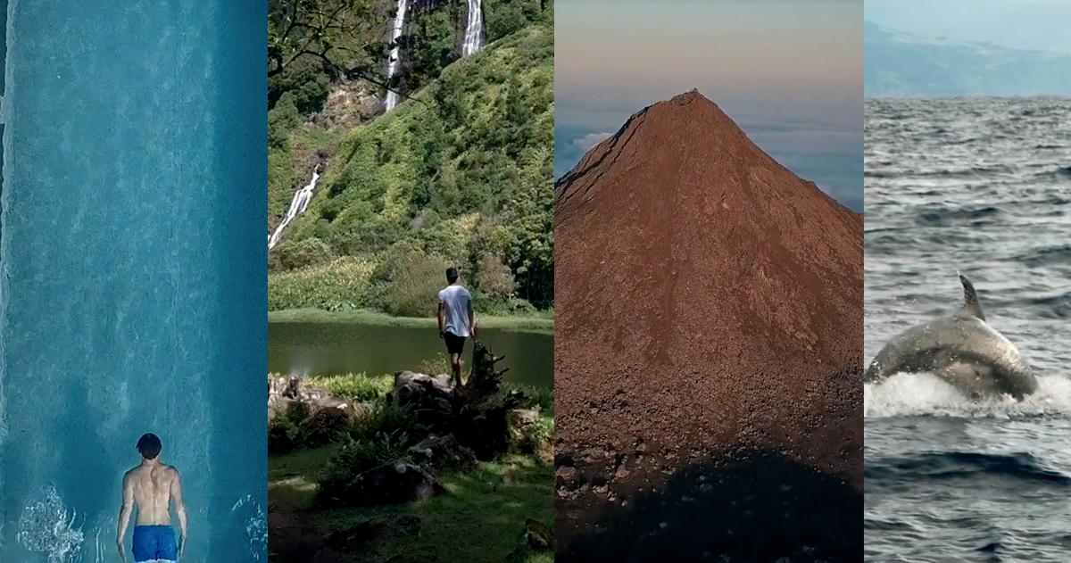 São Miguel, Pico e Flores num vídeo com imagens incríveis e arrepiantes