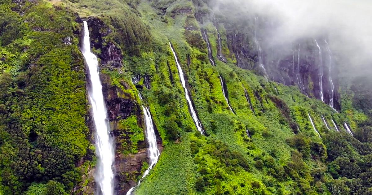 Incrível vídeo da natureza presente na Ilha das Flores