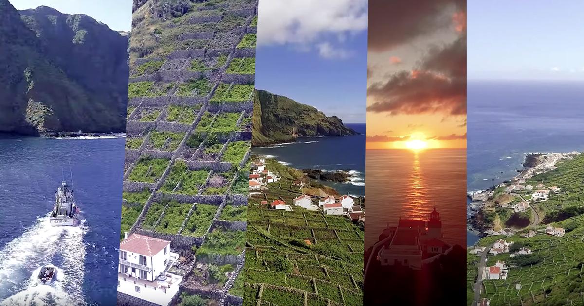 Maia – Ilha de Santa Maria, Imagens aéreas incríveis