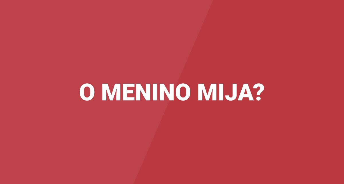"""O Menino Mija""?"