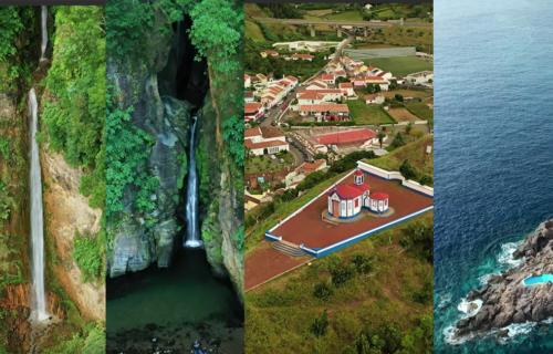 Incríveis imagens aéreas da Ilha de São Miguel