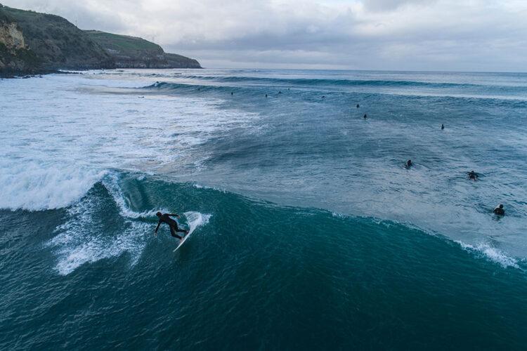 Surf nos Açores