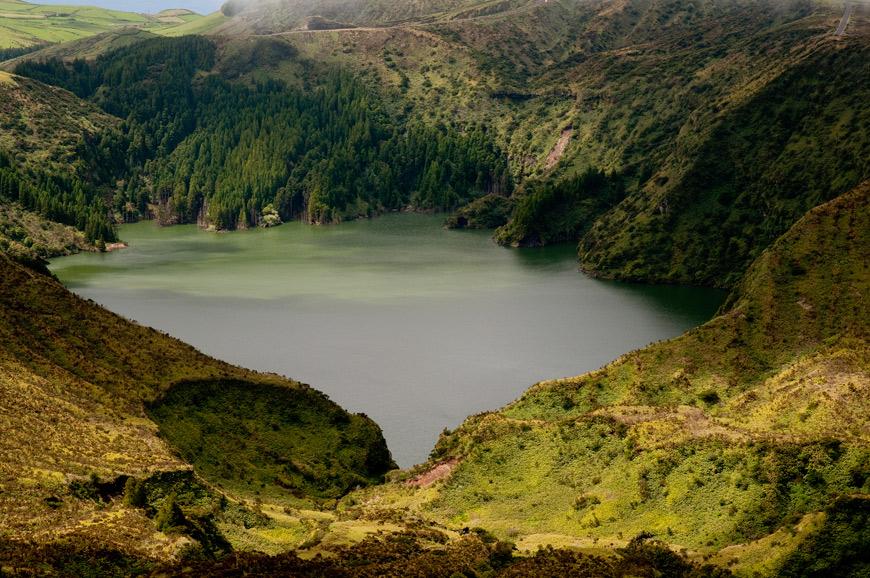 Lagoa Funda - Flores, Açores
