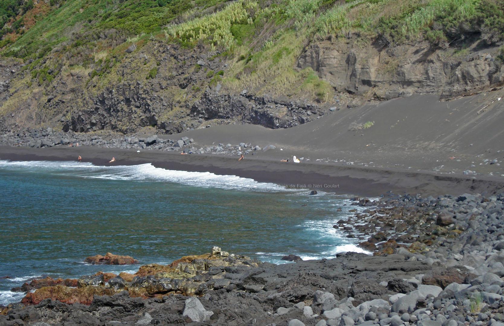 Praia da Fajã - Ilha do Faial, Açores