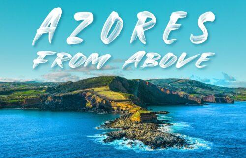 Imagens aéreas incríveis e arrepiantes da Ilha Terceira