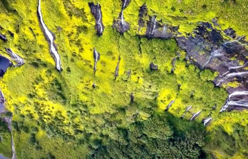 Incríveis imagens aéreas das Ilhas das Flores e Corvo
