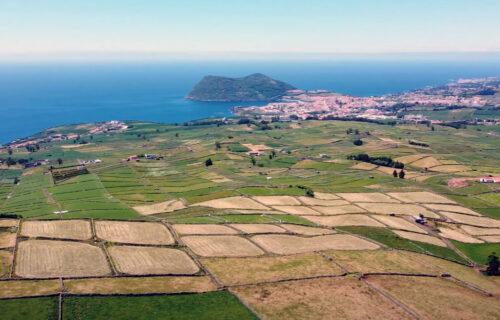 Magníficas imagens aéreas da Ilha Terceira, Açores