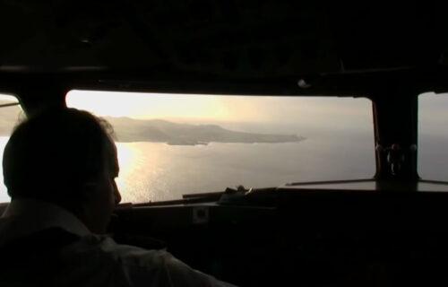 Aterragem Santa Cruz da Graciosa, Ilha Graciosa