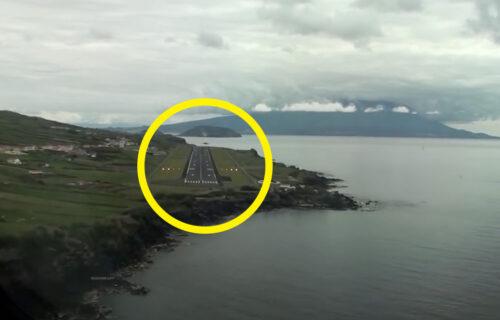 Aterragem em Horta, Ilha do Faial