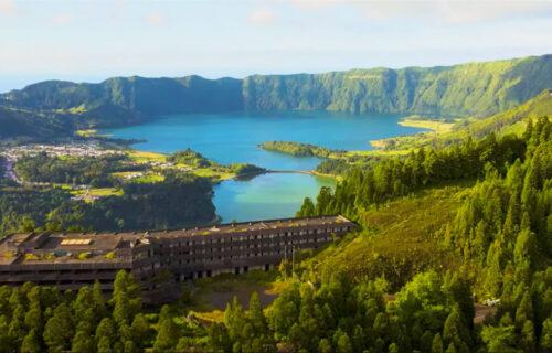 A Incrível Ilha de São Miguel, nos Açores, vista do céu – vídeo com imagens arrepiantes
