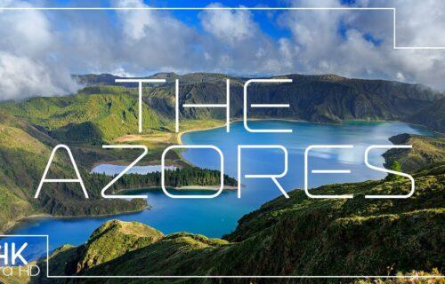 Imagens incríveis em qualidade 4K dos Açores, simplesmente belo e único