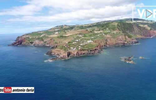 Fantásticas imagens aéreas da Ponta do Topo, Ilha de São Jorge