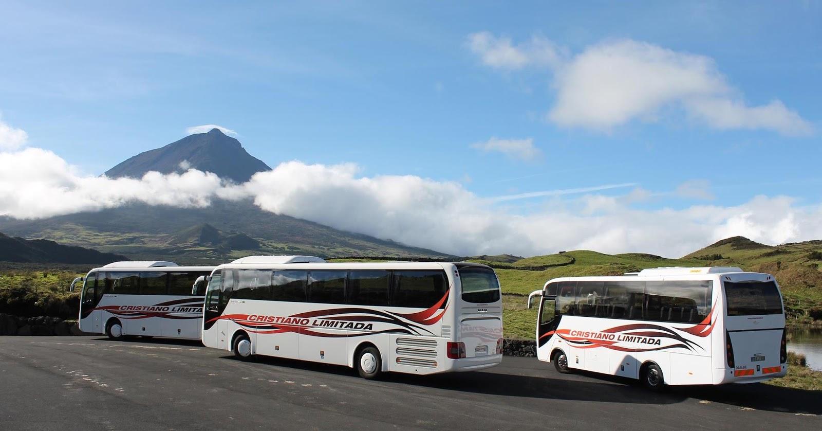 Cristiano Limitada - Transportes e Autocarros na Ilha do Pico Açores