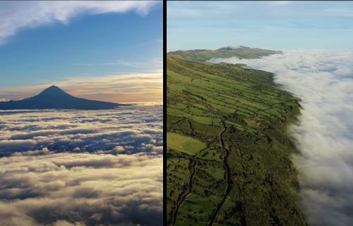 Imagens de cortar a respiração captadas na Ilha de São Jorge