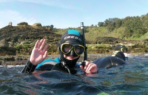 Mergulho com snorkel em Vila Franca do Campo