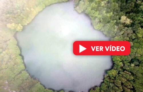 Lagoa do Congro vista do céu – imagens simplesmente magníficas