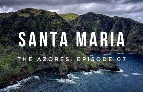 Imagens e cenários incríveis captados na Ilha de Santa Maria