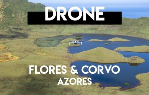 Imagens incríveis captadas por drone nas Ilhas das Flores e Corvo